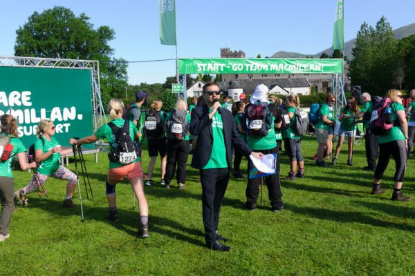 Macmillan Cancer Support: Mighty Hike 2017: Lake District