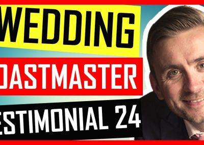 Oxfordshire Master of Ceremonies – Wedding Testimonial – Crazy Bear Hotel – Oxford
