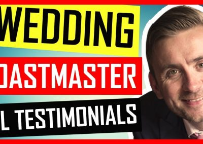 Hire A Wedding Toastmaster