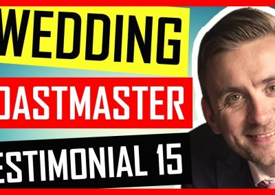 Surrey Toastmaster – Wedding Toastmaster Testimonial – Botleys Mansion in Surrey