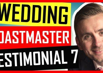 Cambridgeshire Wedding Toastmaster