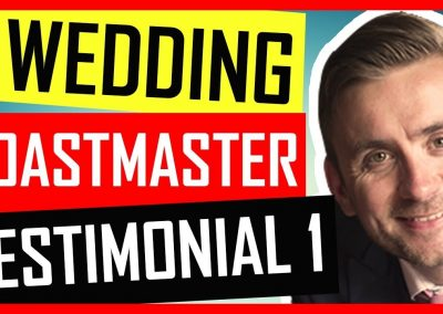 London Wedding Toastmaster